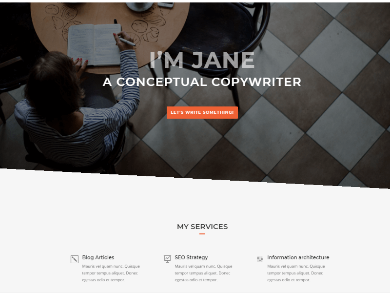 copywriter preview